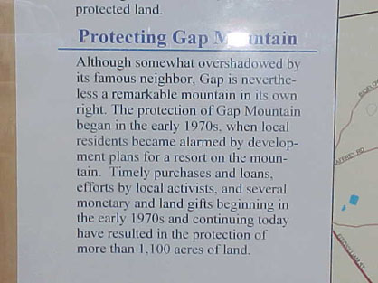Gap Mountain Tow